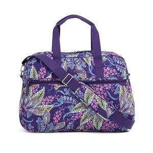 NWT Vera Bradley Medium Traveler Bag